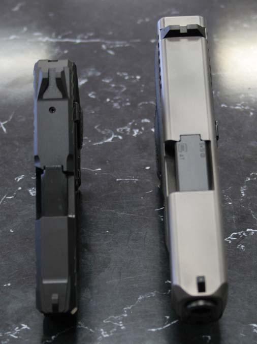 Glock & Ruger Width Comparison
