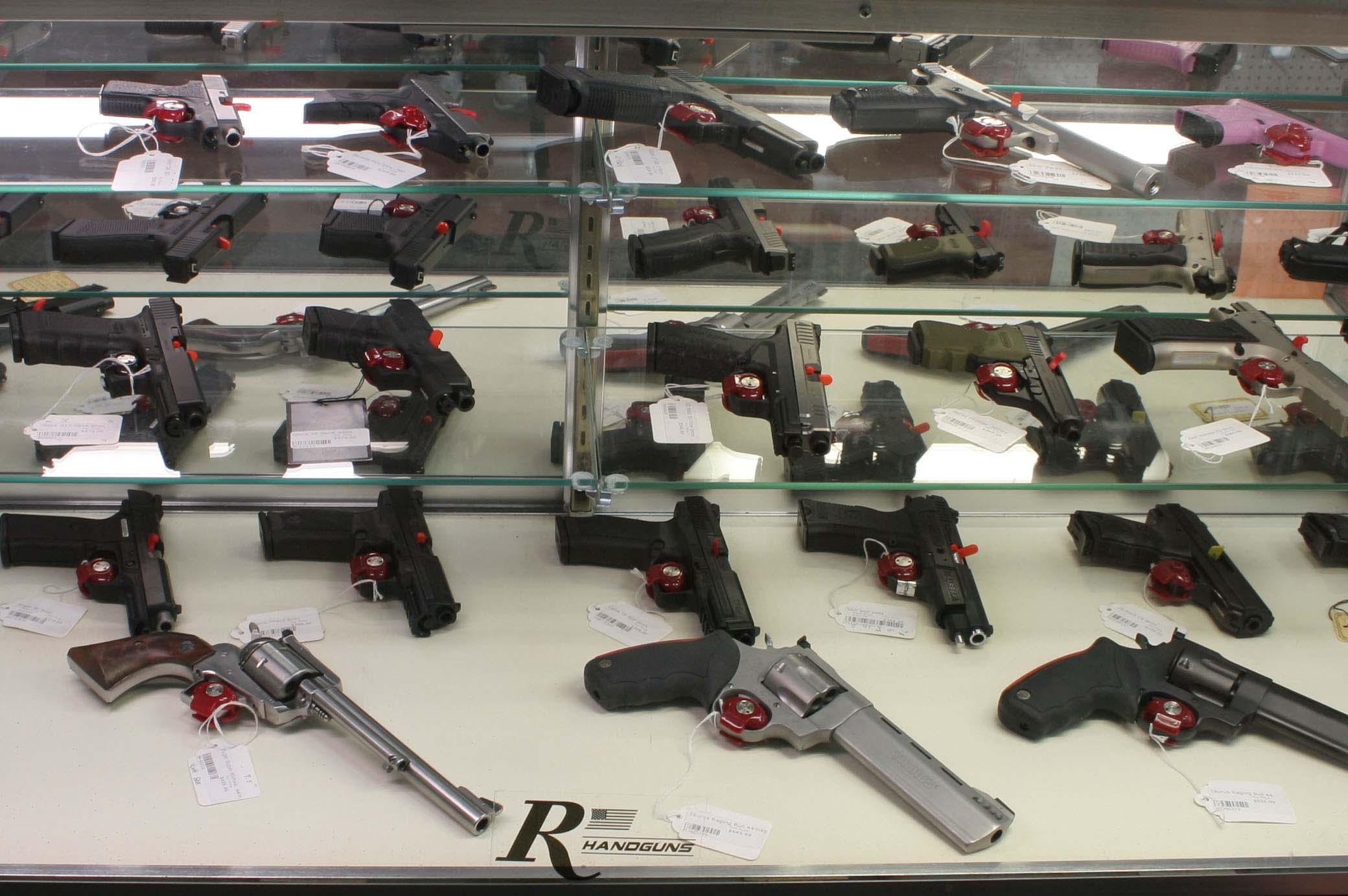 Gun Sales Pistols Revolvers